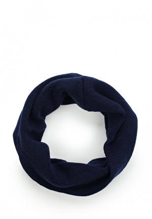 Снуд Button Blue. Цвет: синий