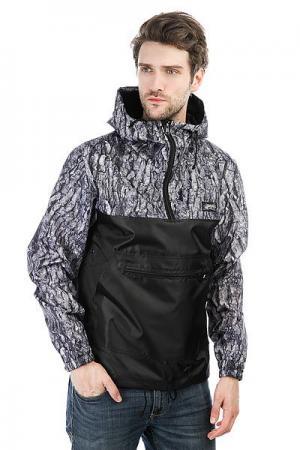 Анорак  Combo Black_wood Anteater. Цвет: серый,черный