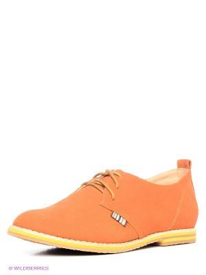 Туфли Betsy. Цвет: оранжевый