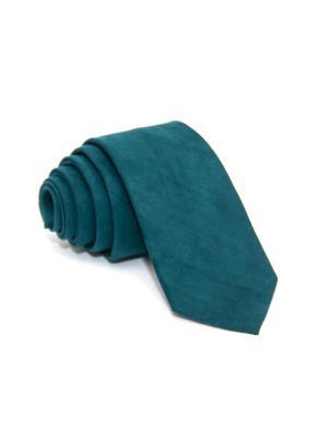 Галстук Churchill accessories. Цвет: морская волна, темно-зеленый, бирюзовый, антрацитовый