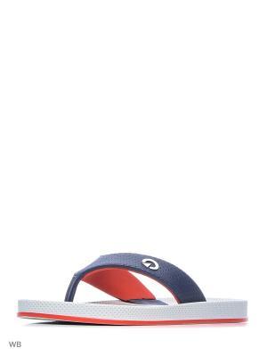 Шлепанцы CARTAGO. Цвет: серый, красный, синий