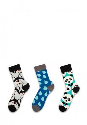 Комплект носков 3 пары Sammy Icon. Цвет: разноцветный