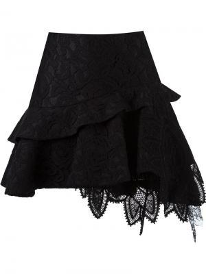 Lace flared skirt Martha Medeiros. Цвет: чёрный