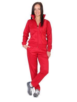 Спортивный костюм W5. Цвет: красный