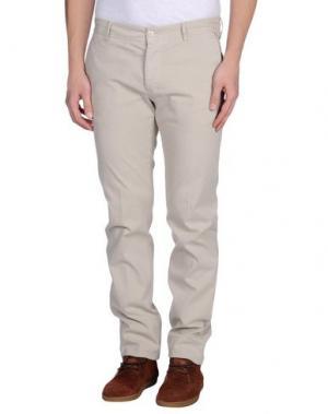 Повседневные брюки REPORTER. Цвет: бежевый