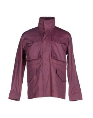 Куртка U CLOTHING. Цвет: фиолетовый