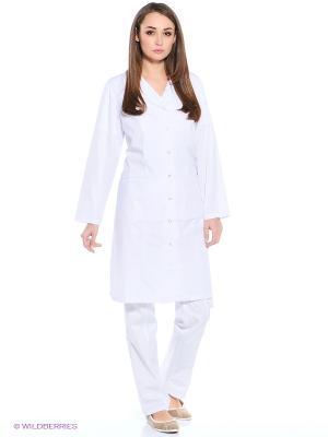 Халат медицинский Med Fashion Lab. Цвет: белый