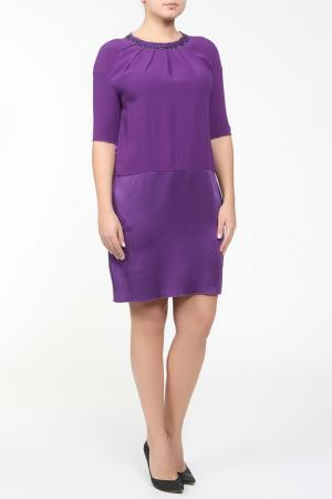 Платье VDP CLUB. Цвет: фиолетовый