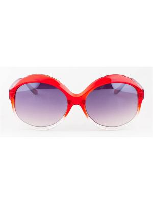 Солнцезащитные очки Lounge. Цвет: красный