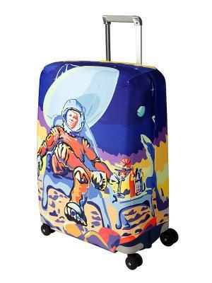 Чехол для чемодана Mars Beach Club L/XL Coverway. Цвет: синий