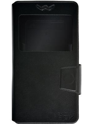 Универсальный чехол slide 5.2-5.5 skinBOX. Цвет: черный