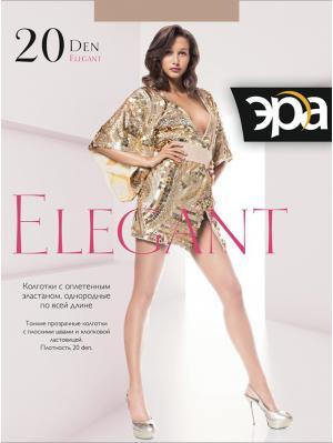 Колготки женские Elegant 20 ЭРА.. Цвет: коричневый