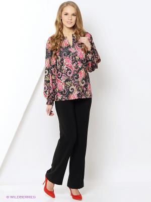 Блузка Glam Goddess. Цвет: розовый, желтый, черный