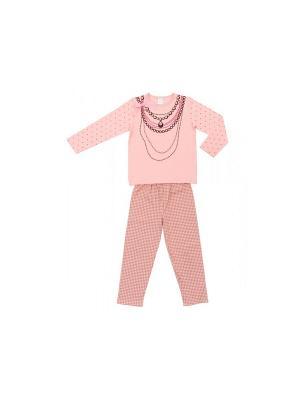 Пижама Модамини. Цвет: розовый