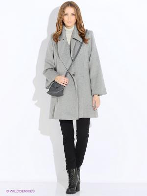 Пальто MEXX. Цвет: светло-серый
