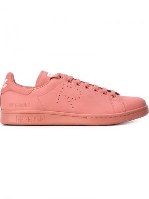 Кеды Stan Smith Adidas By Raf Simons. Цвет: розовый и фиолетовый