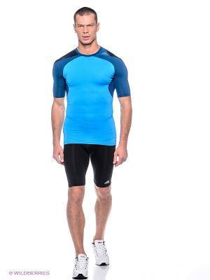 Компрессионные шорты Techfit Base Adidas. Цвет: черный
