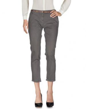 Повседневные брюки ALFONSO RAY. Цвет: серый