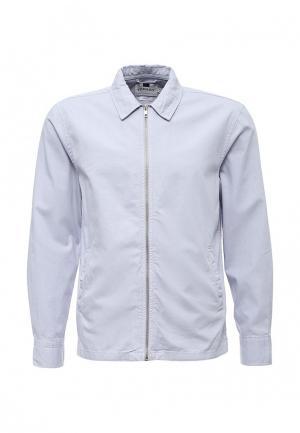 Куртка Topman. Цвет: голубой