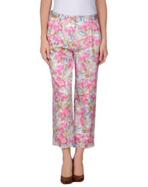 Повседневные брюки MAURO GRIFONI. Цвет: светло-фиолетовый