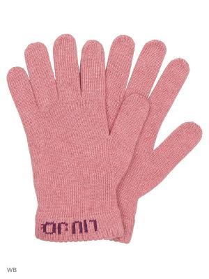 Перчатки LIU JO. Цвет: лиловый