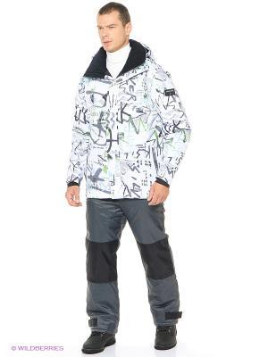 Куртка Quiksilver. Цвет: белый