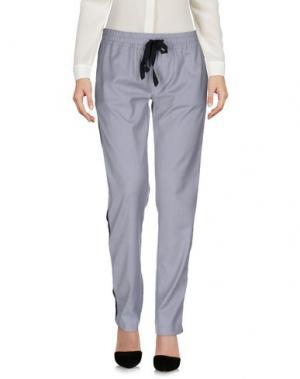 Повседневные брюки DENNY ROSE. Цвет: светло-серый