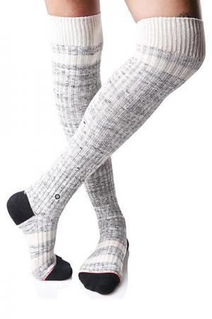 Гольфы женские  Fire Dancer Grey Stance. Цвет: белый,серый,черный