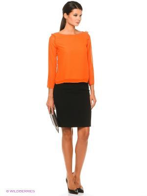Блузка Compania Fantastica. Цвет: оранжевый