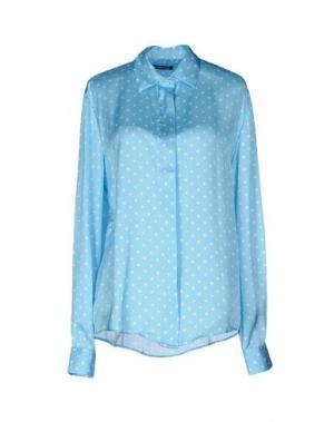 Pубашка NINEMINUTES. Цвет: небесно-голубой