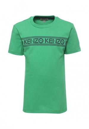 Футболка Kenzo. Цвет: зеленый