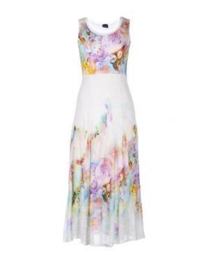 Платье длиной 3/4 PAUSE CAFÉ. Цвет: слоновая кость