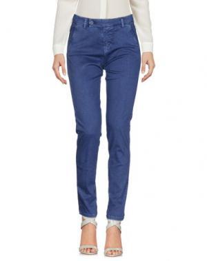 Повседневные брюки J-CUBE. Цвет: синий