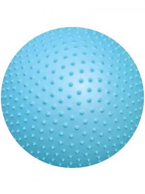 Мяч гимнастический (массажный) 65 см. Atemi. Цвет: голубой