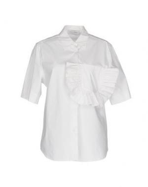 Pубашка WEILI ZHENG. Цвет: белый