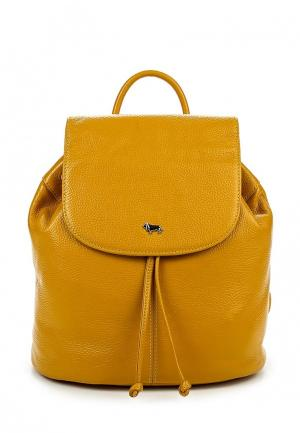 Рюкзак Labbra. Цвет: желтый