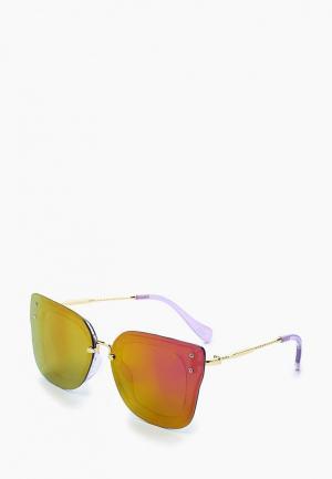 Очки солнцезащитные Keddo. Цвет: фиолетовый