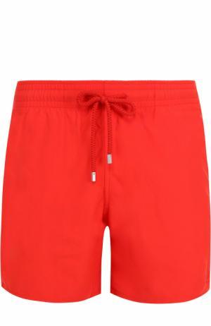 Плавки-шорты с карманами Vilebrequin. Цвет: красный