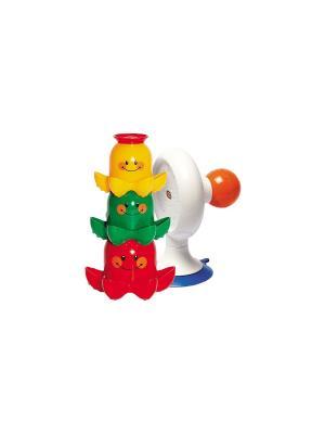 Игрушка для ванной Осьминожки Tolo. Цвет: красный