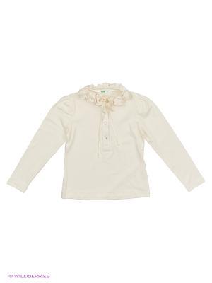 Блузка LIK. Цвет: кремовый