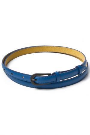 Ремень Vip Collection. Цвет: синий