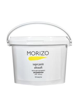 Паста для шугаринга ультрамягкая 3000мл MORIZO. Цвет: прозрачный, светло-желтый