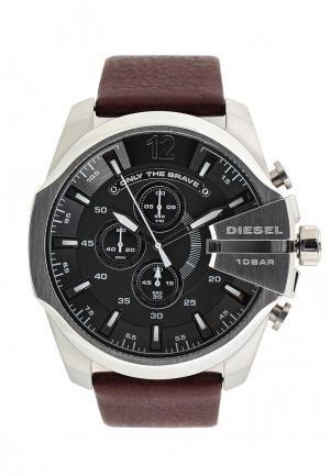 Часы Diesel. Цвет: коричневый