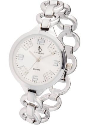 Наручные часы (серебристый) bonprix. Цвет: серебристый