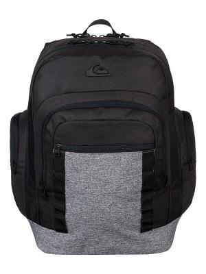 Рюкзак Quiksilver. Цвет: черный, серый