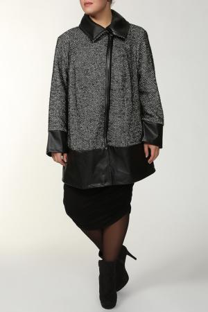 Пальто Verpass. Цвет: черный, серый