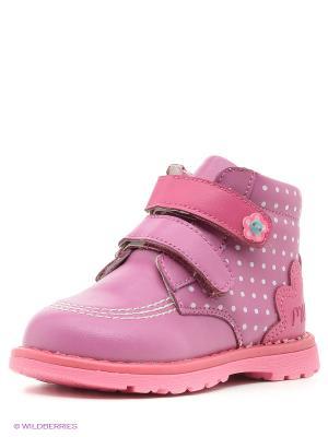 Ботинки Mursu. Цвет: сиреневый