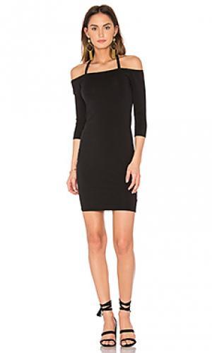 Платье amal LA Made. Цвет: черный
