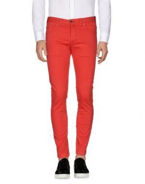 Повседневные брюки ALV ANDARE LONTANO VIAGGIANDO. Цвет: красный