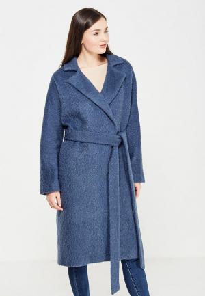 Пальто Pallari. Цвет: синий